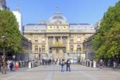 Paris. Palace of Justice — Stock Photo