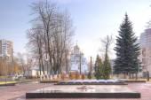City Reutov. Eternal fire — Stock Photo