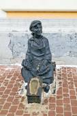 Nizhny Novgorod. Sculpture Bootblack — Stock Photo
