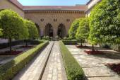 Saragossa. Aljaferia Palace — Stock Photo