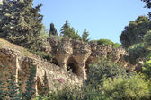 Barcelona. In the Park Guell — Stock Photo