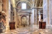 Interior Temple of Saint Peter. Vatican — Foto Stock