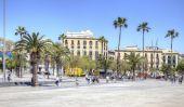 Barcelona, stadsbild — Stockfoto