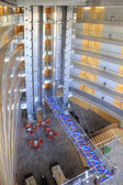 Barcelona. Interior of modern hotel — Stock Photo