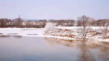 Moskva riverbank — Wideo stockowe