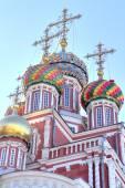 Domes of the Nativity church — Photo