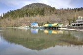 Озеро ritsa — Стоковое фото