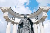 Moscow. The monument to Emperor Alexander II Liberator — Stock Photo