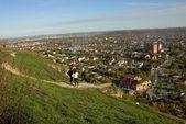 View on Goryachevodsky.  — Stock Photo