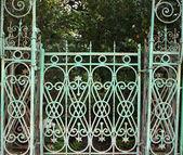 Elaborate gate. — Stock Photo