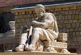 Image of Sculpture of the god in Essentuki — Stock Photo