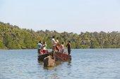 Fishermens from Goa — Stock Photo