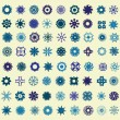 Snowflakes set — Stock Vector #54391143