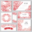 Floral cards set — Stock Vector #55245573