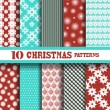 Seamless patterns set — Stock Vector #55527527