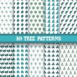 Seamless patterns set — Stock Vector #55884435