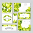 Floral cards set — Stock Vector #60268557