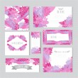 Floral cards set — Stock Vector #60268617
