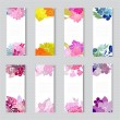 Floral cards set — Stock Vector #63160029