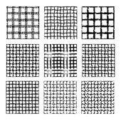 Bezešvé vzory sada — Stock vektor