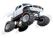 Monster Truck — Stock Vector