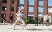 Dans är makt! — Stockfoto