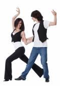 West Coast Swing Dance — Stock Photo