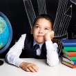 Bored schoolboy — Stock Photo #53687073