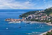 Riviera of Budva on Adriatic Sea coast, Montenegro. — Stock Photo