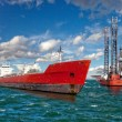 The offshore drilling oil rig — Stock Photo #54133937