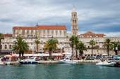 Architecture of the Old Town in Split, Croatia. — Stock Photo