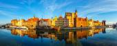 The Gdansk Old Town — Stock Photo