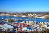 Port of Stockholm, Sweden. — Stock fotografie