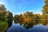 Polaco otoño dorado — Foto de Stock