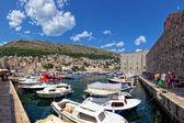 Old Port of Dubrovnik, Croatia — Photo