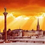 Stockholm in retro style — Stock Photo #57546565