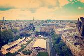 Paris havadan görünümü — Stok fotoğraf