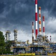 Refinery under dramatic sky — Stock Photo #59413205