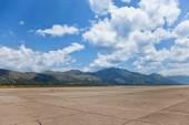 Airport Dubrovnik — 图库照片