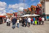 Ulica w Stavanger — Zdjęcie stockowe