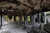 Old ruins interior — Stok fotoğraf