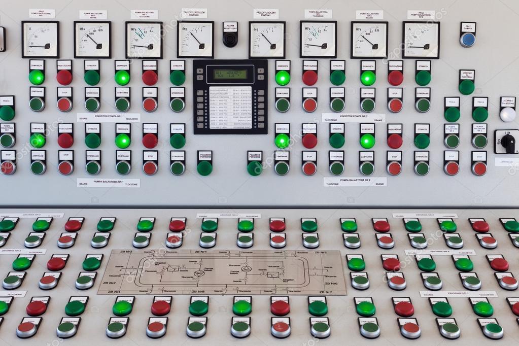 Панель с кнопками