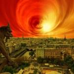 Solar storm — Stock Photo #62379983