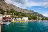 Omis marina in Dalmatia — Stockfoto