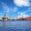 Panoramic view of a large industry area — Stock Photo #67651695