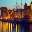 Gdansk at night — Stock Photo #70673143