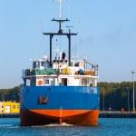 Cargo ship — Stock Photo #77129787