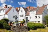 Norwegian Houses — Stock Photo