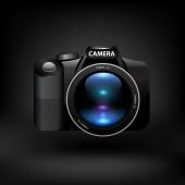 Kamera. vektor — Stockvektor