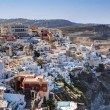 Fira, the capital of Santorini island, Greece. — Stock Photo #54556285